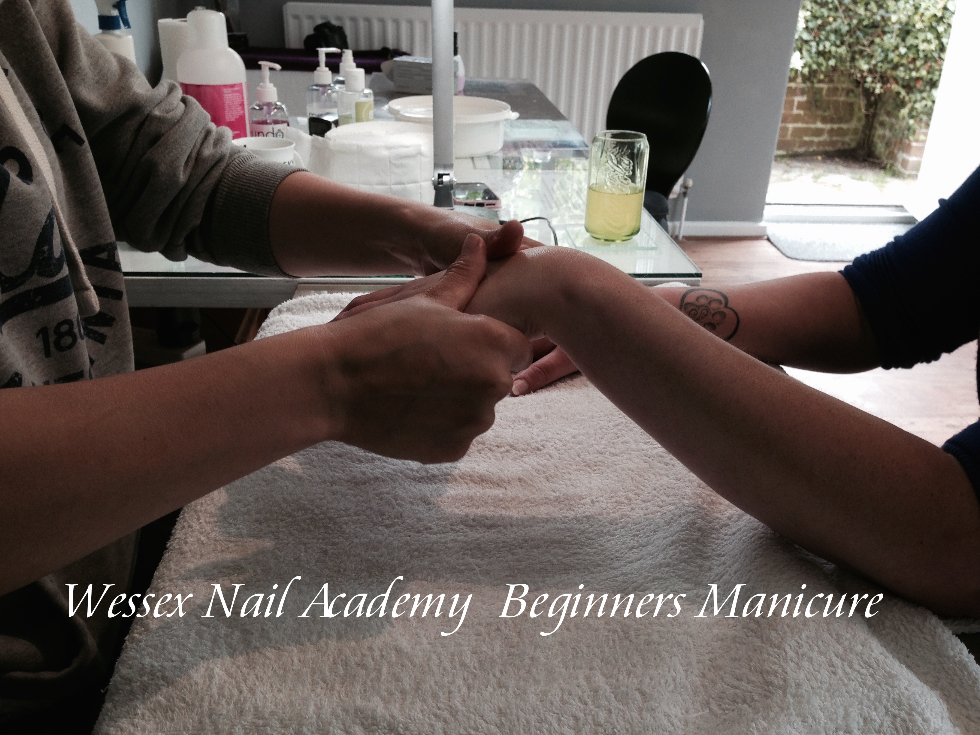 Beginners Manicure Training Course, Nail extension training, nail training course, Wessex Nail Academy Okeford Fitzpaine, Dorset