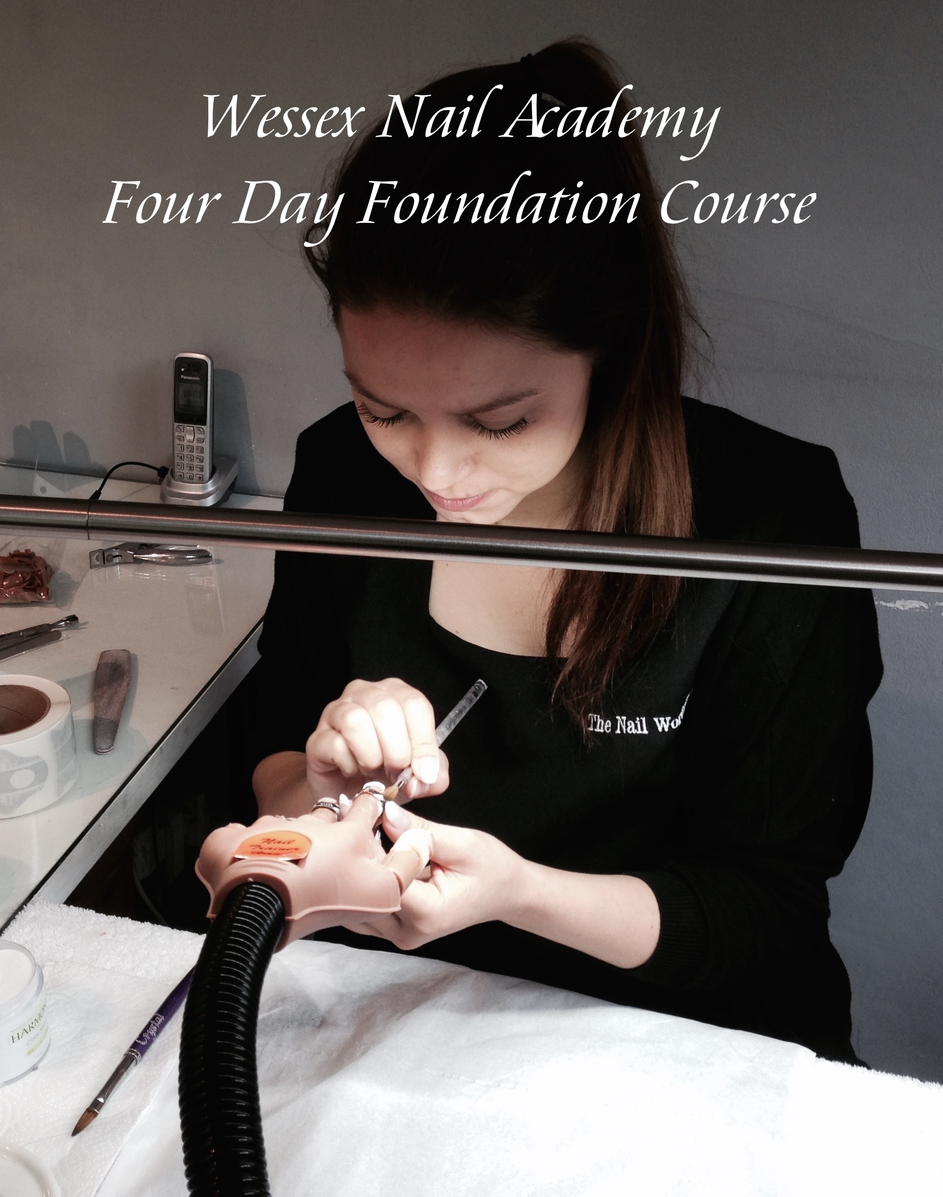 Acrylic nail Training course, Nail extension training , nail training course, Wessex Nail Academy Okeford Fitzpaine, Dorset