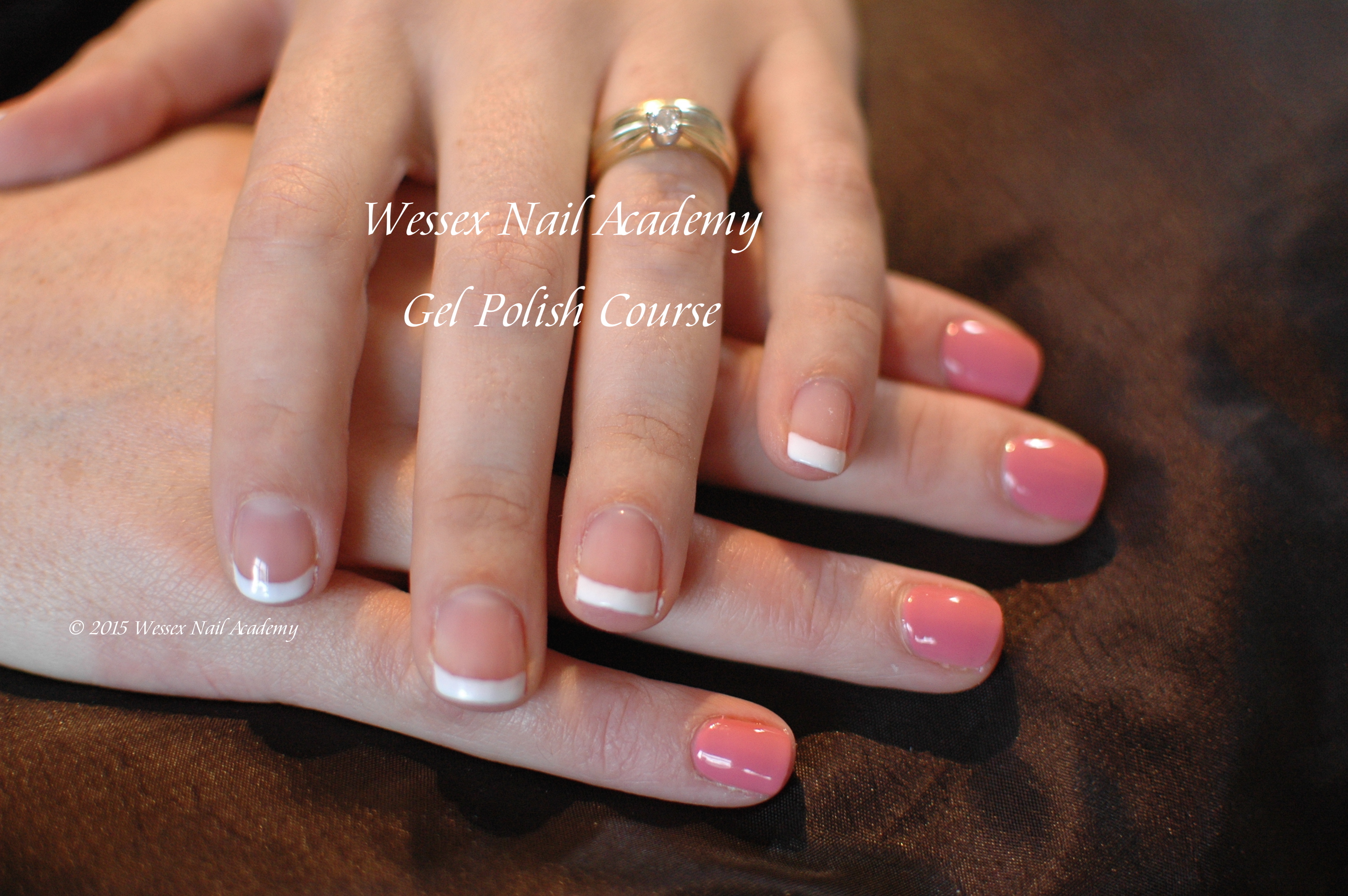 Gel Polish Beginners Course Students work, Nail extension training , nail training course, Wessex Nail Academy Okeford Fitzpaine, Dorset