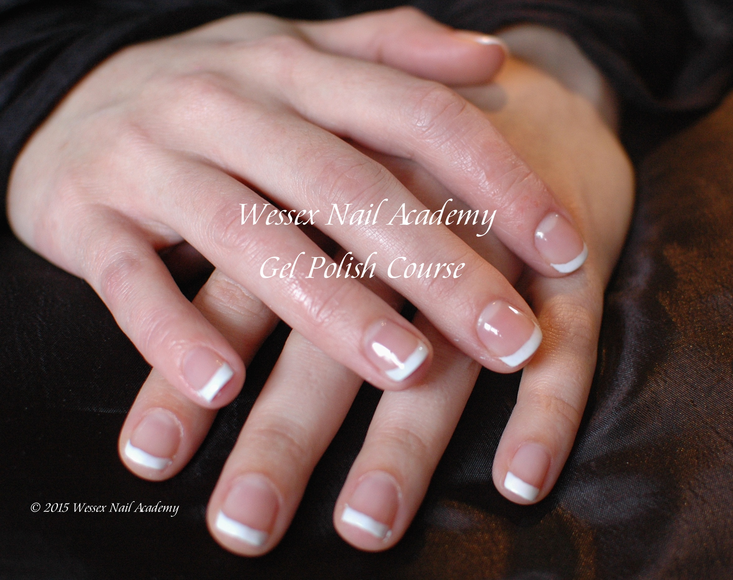 Gel Polish Beginners Manicure Student Work, Nail extension training , nail training course, Okeford Fitzpaine, Dorset