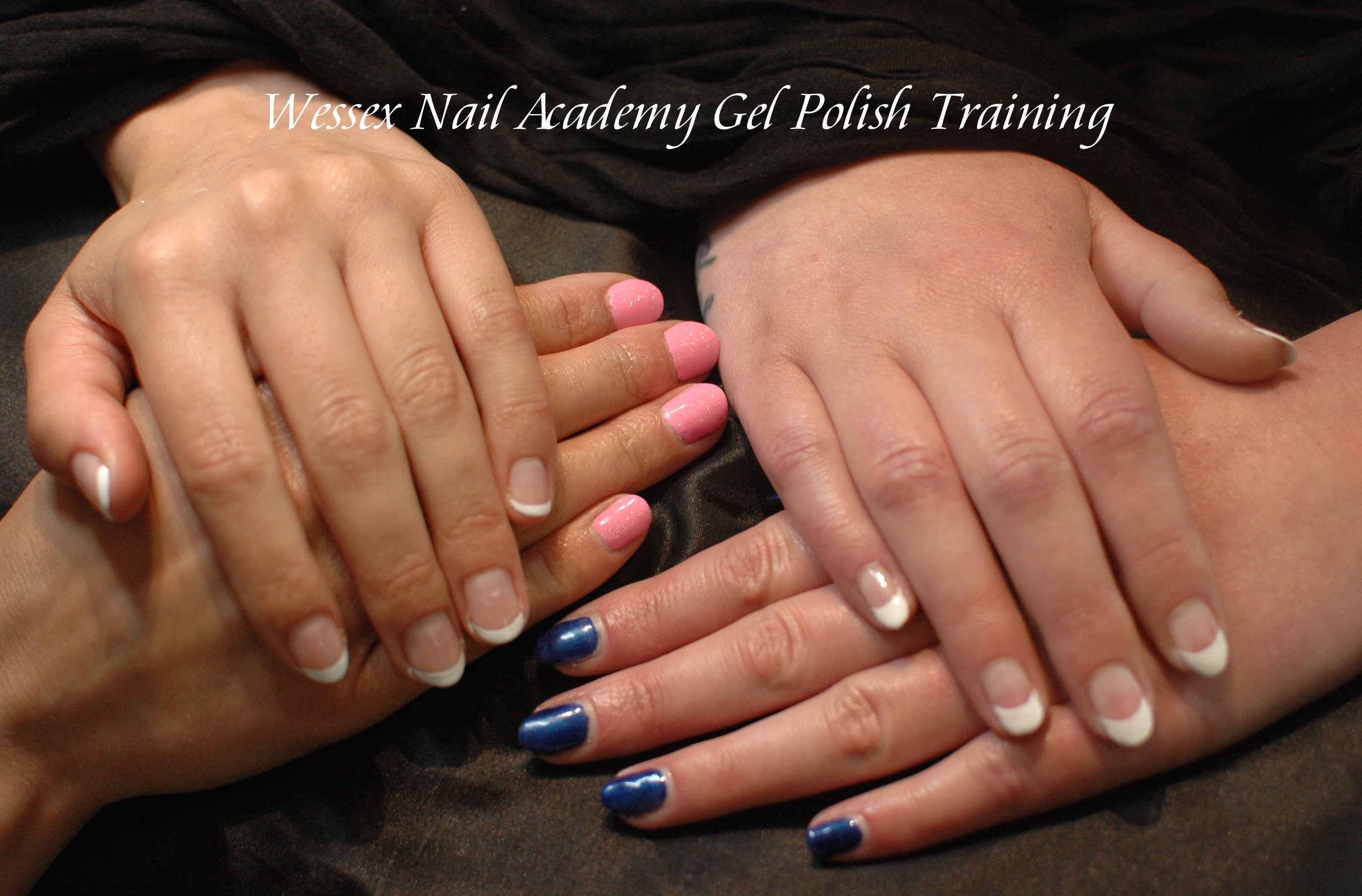 Gel Polish Beginners Manicure Nail Training Course Work, Nail extension training , nail training course, Wessex Nail Academy Okeford Fitzpaine, Dorset