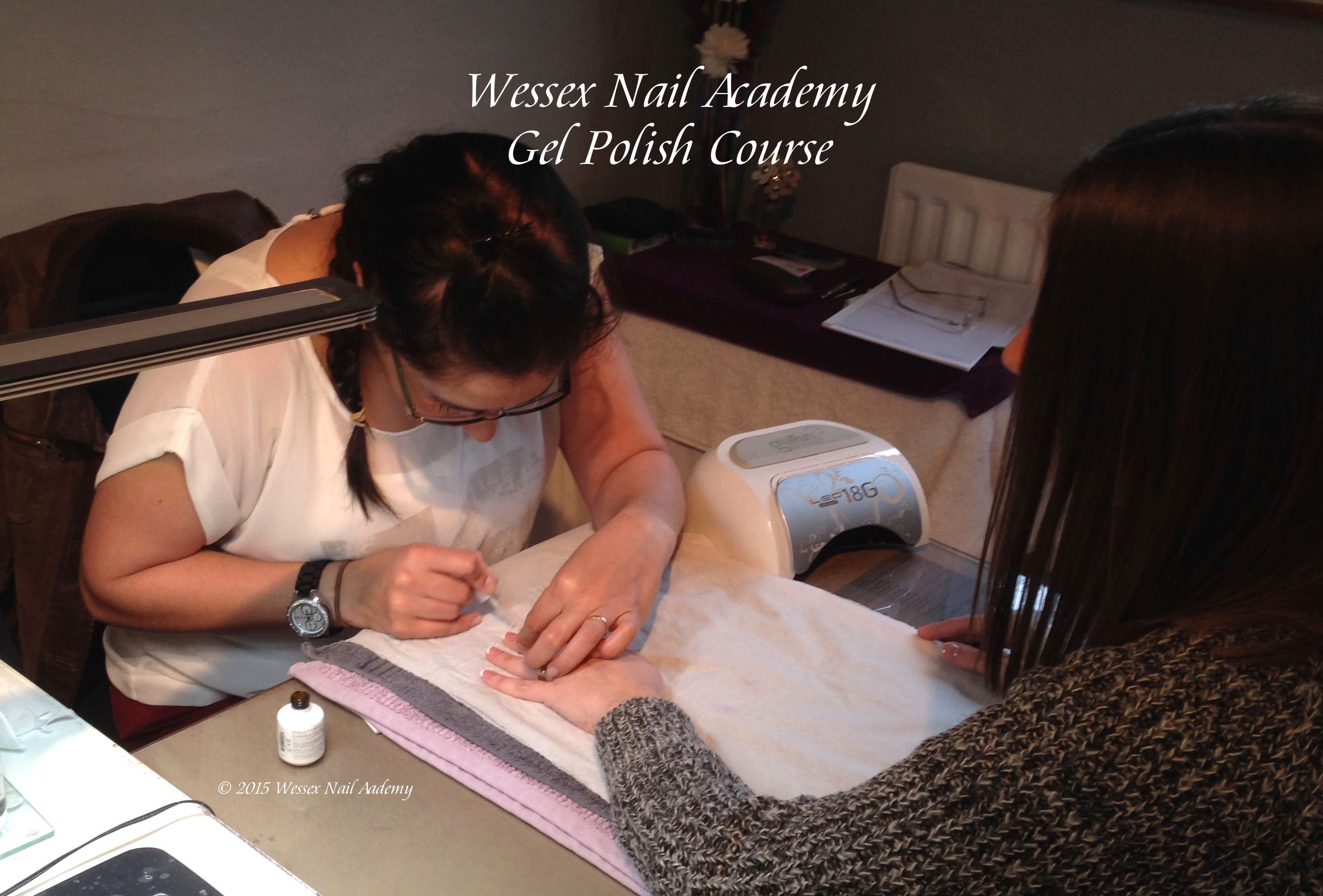 Gel Polish Beginners Manicure and Pedicure Course, Nail extension training, nail training course, Wessex Nail Academy Okeford Fitzpaine, Dorset
