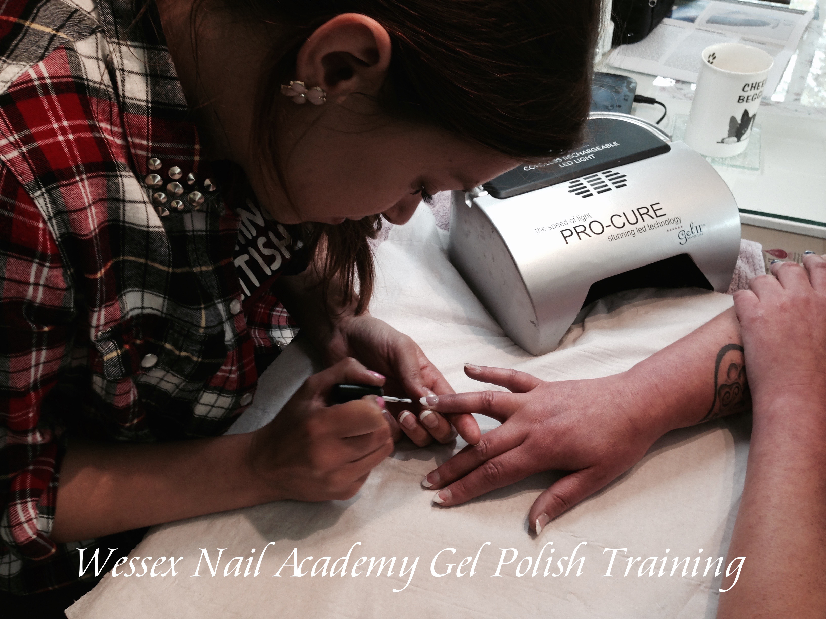 Gel Polish Beginners Manicure and Pedicure Nail Technicians Course, Nail extension training, nail training course, Wessex Nail Academy Okeford Fitzpaine, Dorset