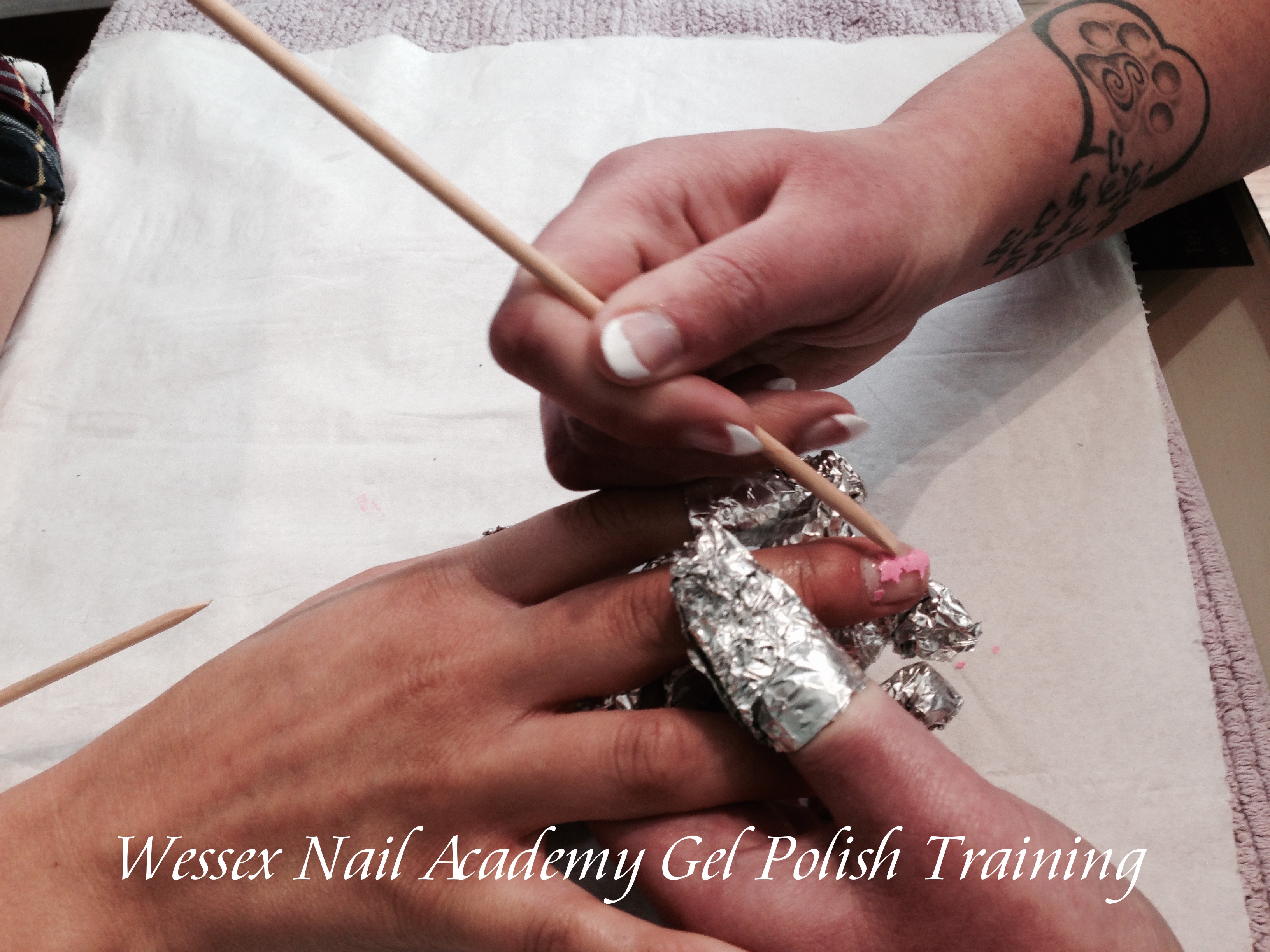 Gel Polish Beginners Manicure and Pedicure Nail training Courses, Nail extension training, nail training course, Wessex Nail Academy Okeford Fitzpaine, Dorset