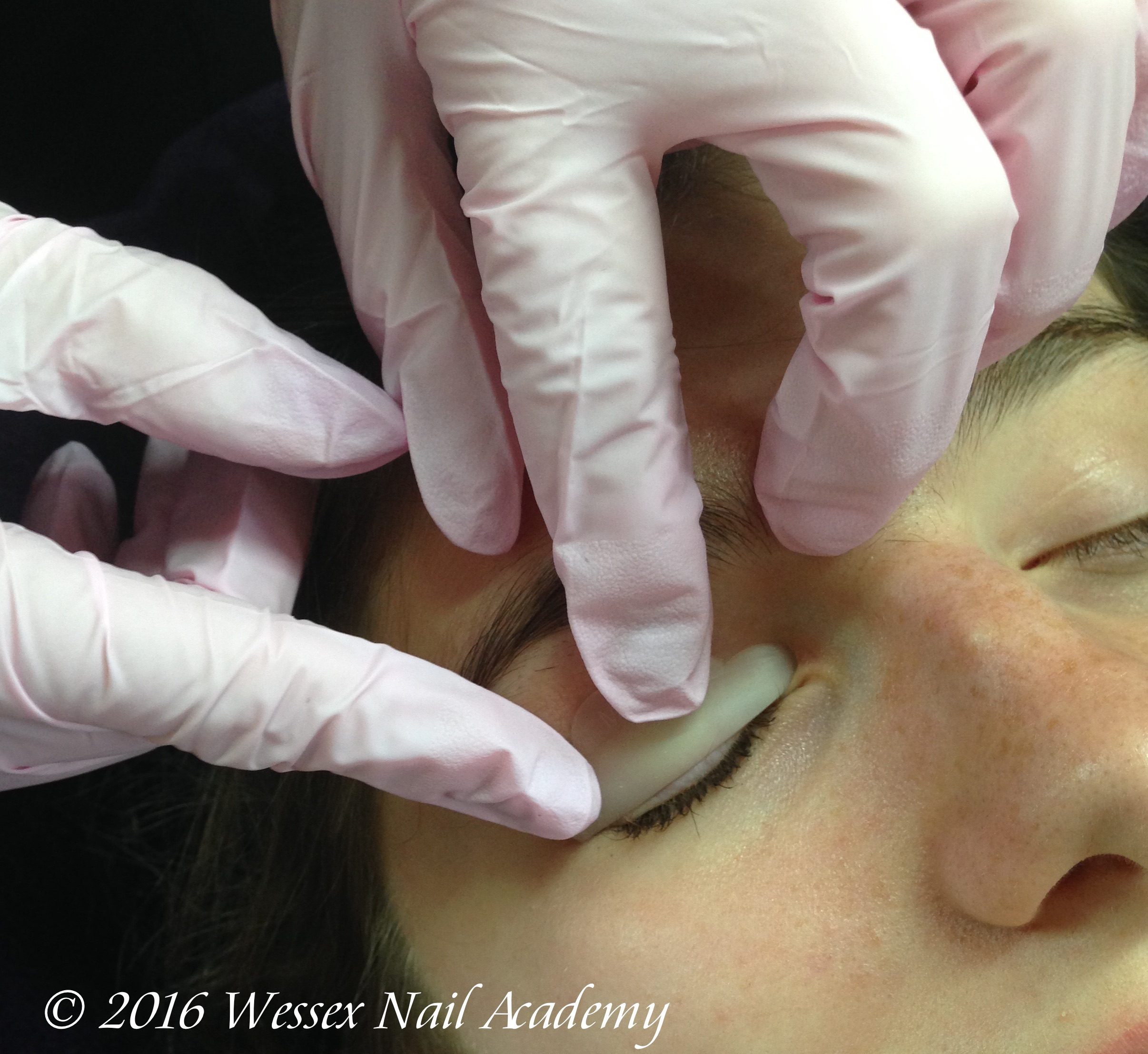 Lash Lifting and Perming Lash and Brow Tinting training course, Wessex Nail Academy Okeford Fitzpaine, Dorset