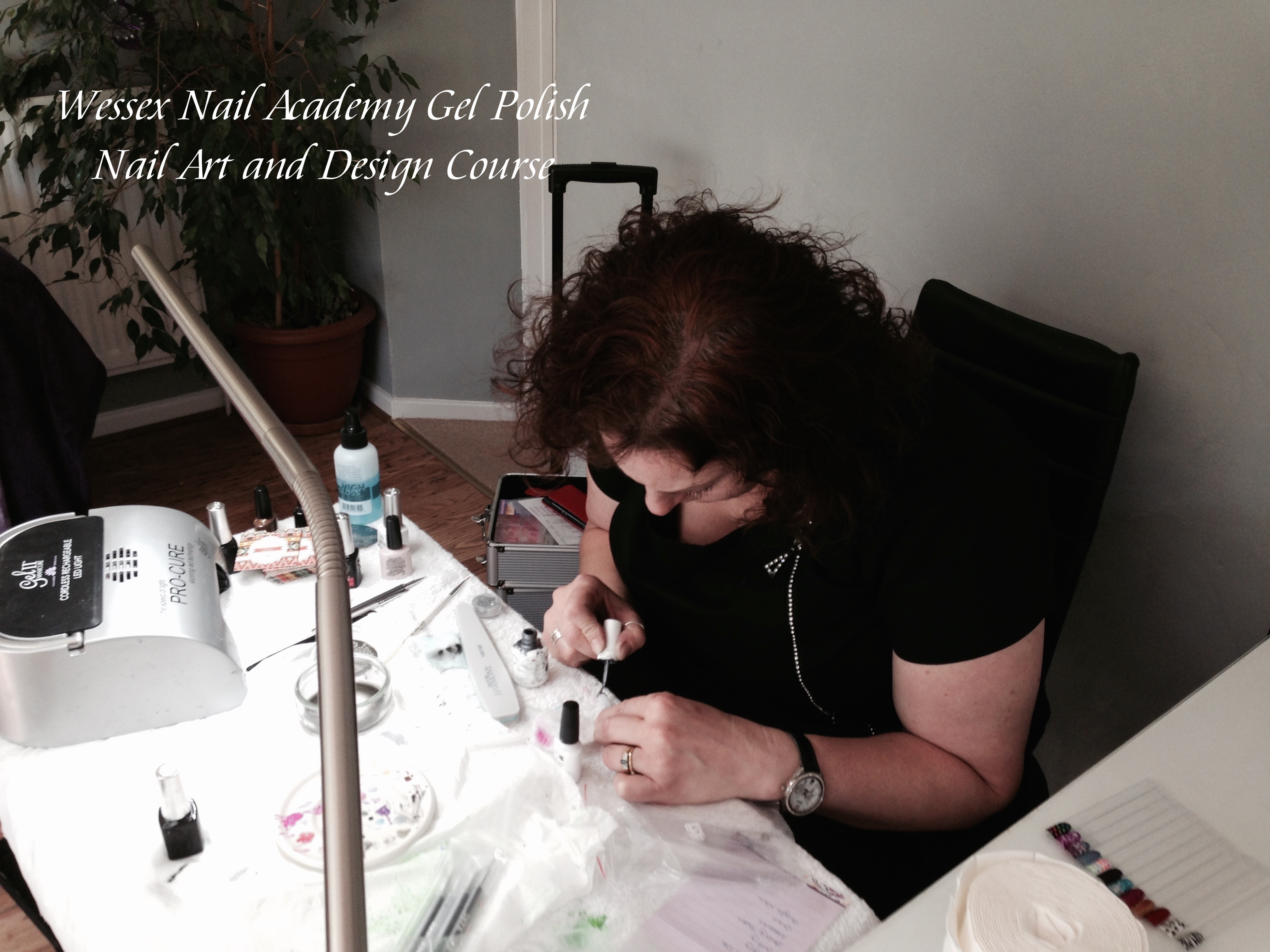 Nail extension training, nail training course, Wessex Nail Academy Okeford Fitzpaine, Dorset