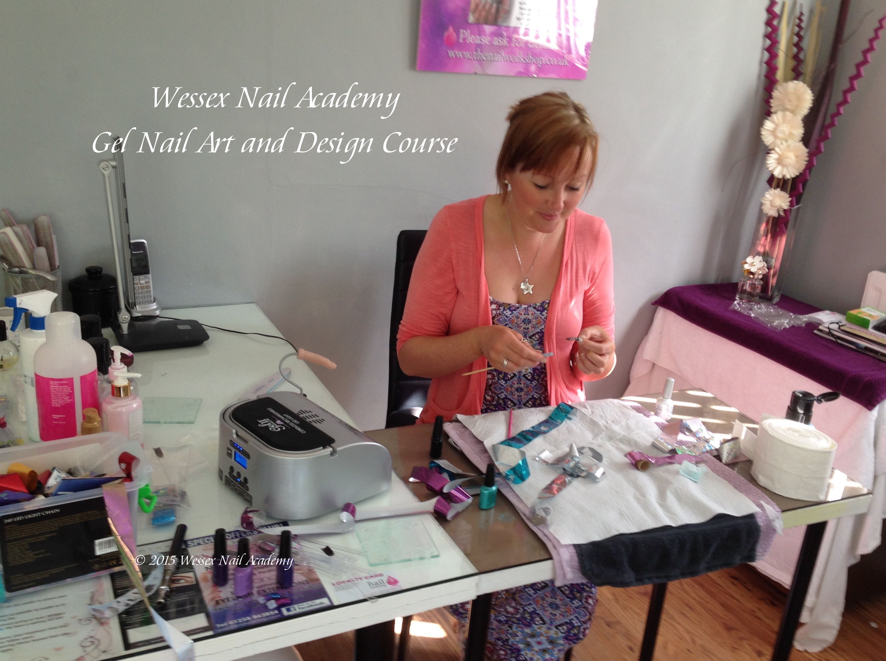 Nail Art Course, Nail extension training, nail training course, Wessex Nail Academy Okeford Fitzpaine, Dorset