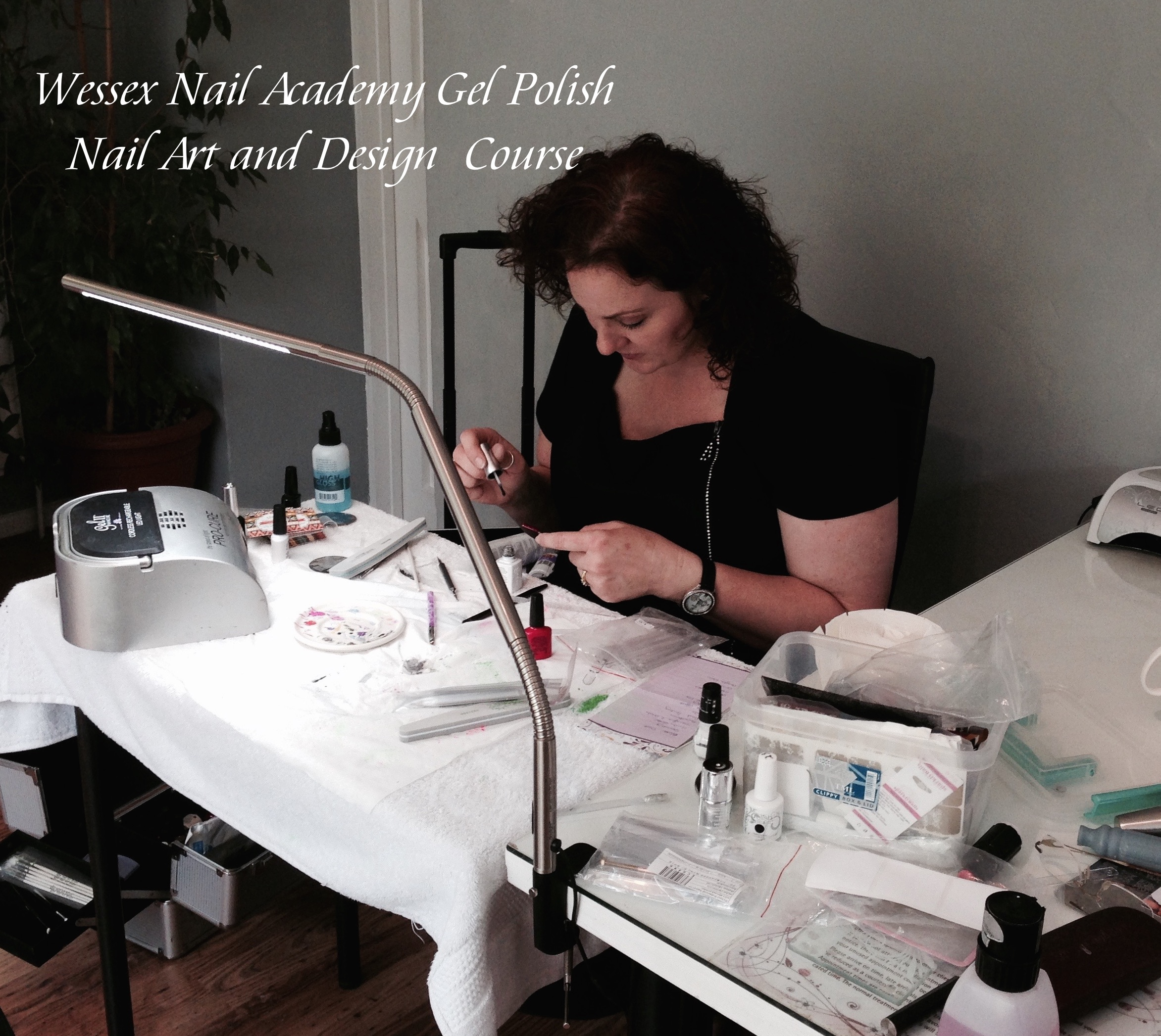 Nail Art Training Course, Nail extension training, nail training course, Wessex Nail Academy Okeford Fitzpaine, Dorset