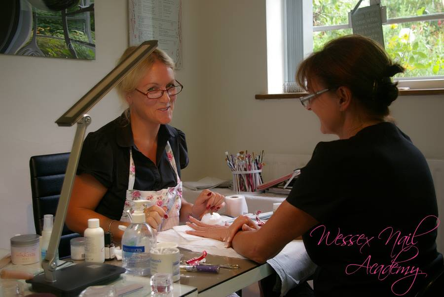 One to One Refresher Nail Course, Nail extension training, nail training course, Wessex Nail Academy Okeford Fitzpaine, Dorset