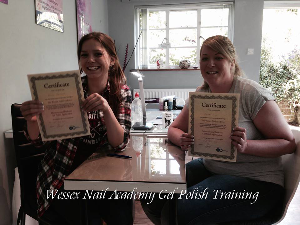Nail extension training , nail training course, Okeford Fitzpaine, Dorset