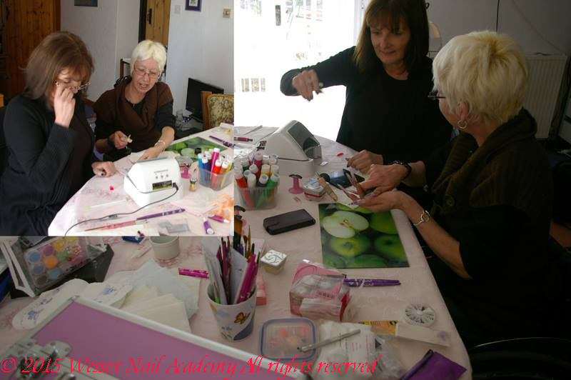 Acrylic Silk Nail Training, Nail extension training , wedding nails, Okeford Fitzpaine, Dorset