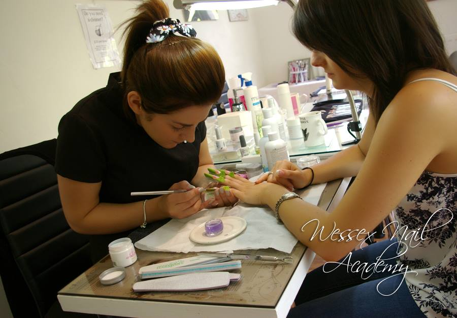 Nail extension training , wedding nails, Okeford Fitzpaine, Dorset