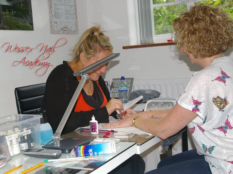 Nail extension training , nail Training south west, Okeford Fitzpaine, Dorset